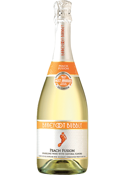 Barefoot Bubbly Peach Wine Myrtle Beach SC