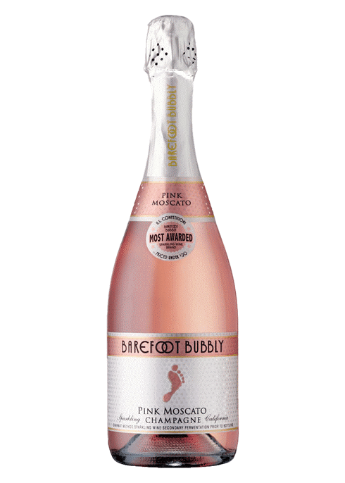 Barefoot Bubbly Pink Moscato Wine