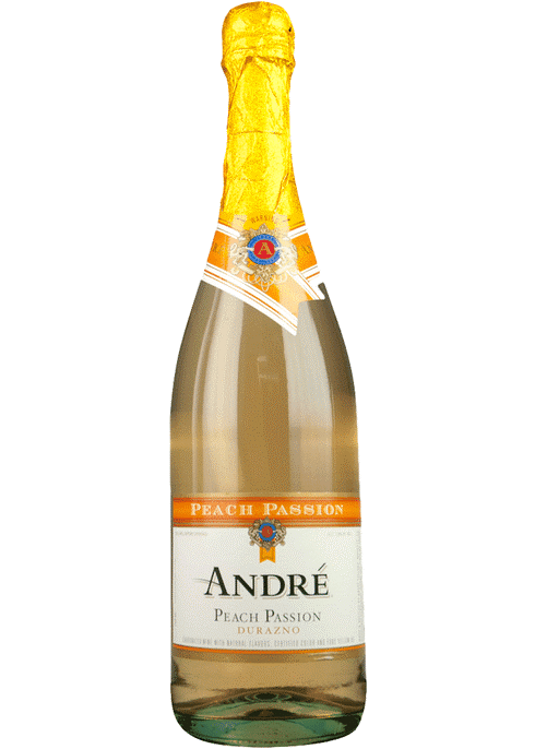 Andre Peach (MOSCATO) Wine Myrtle Beach SC