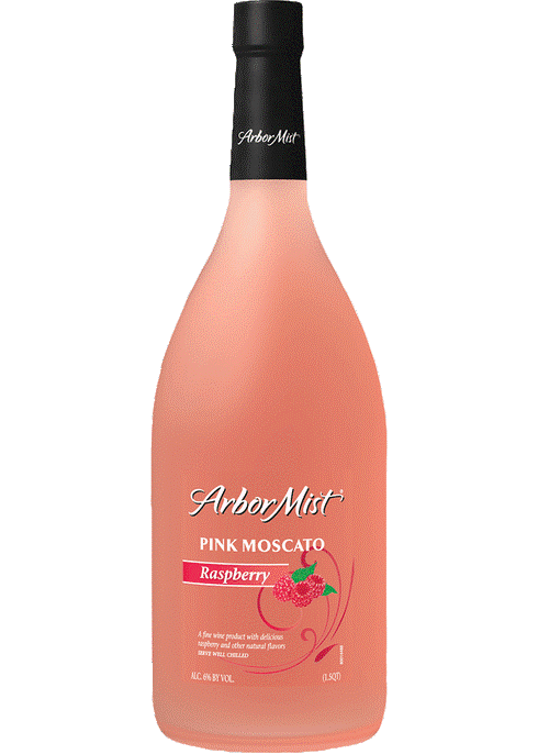 Arbor Mist Raspberry Pink Moscato Wine Myrtle Beach SC