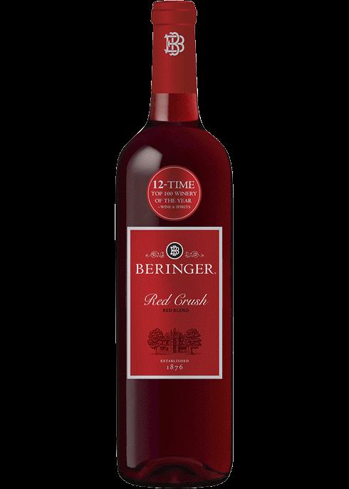 Beringer Red Blend Red Crush Myrtle Beach SC